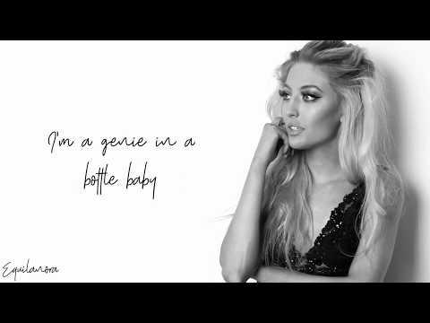 Sofia Karlberg  Genie In A Bottle Lyrics