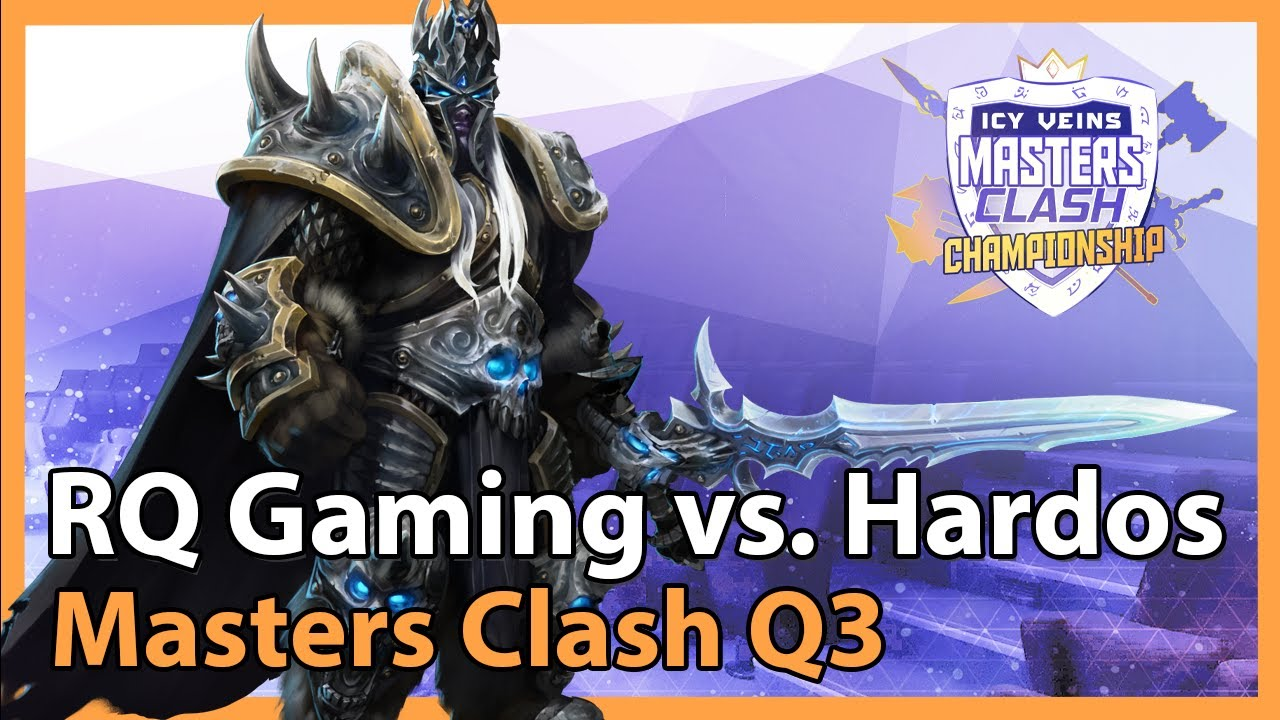 Hardos vs. RQ Gaming - Masters Clash Q3 - Heroes of the Storm