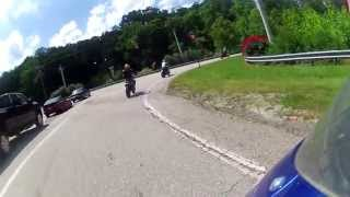 Blood Mountain Ride Up To - ( U.S Route 19 )