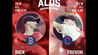 October 06, 2016-Boston Red Sox vs. Cleveland Indians {ALDS G1}