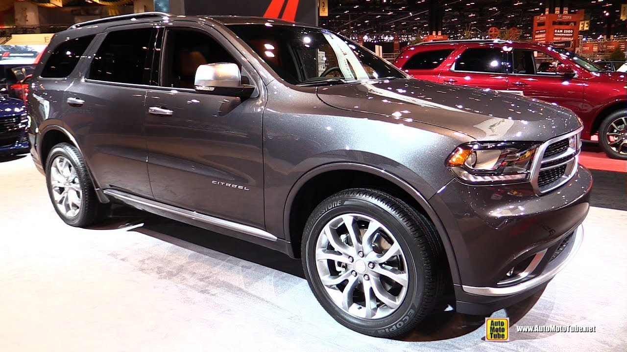 2017 Dodge Durango Citadel Awd Exterior And Interior Walkaround 2017 Chicago Auto Show Youtube