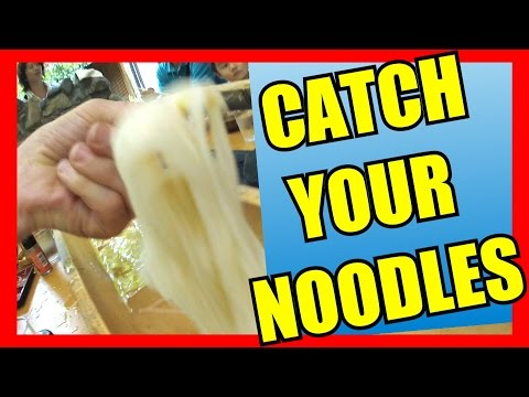 Catch your Noodles - Eric Meal Time #45 (流しそうめん)