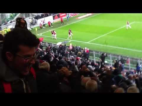 Milan Chievo Andre'Silva Goool 3 a 2  Live
