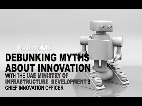 UAE infrastructure ministry's chief innovation officer debunks myths about innovation