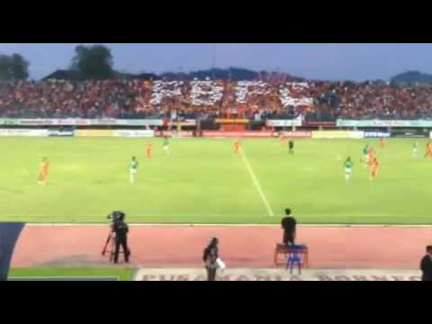 Aksi Koreo Pusamania 'PBFC' tgl 30 September 2016
