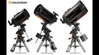 Celestron Advanced VX EQ mount…