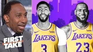 Download LeBron-AD outrank Kawhi-PG on Stephen A.'s top duos list | First Take Mp3 and Videos