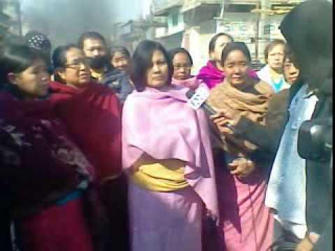 bandh on nagamapal in accordance 2 molestation of momoko