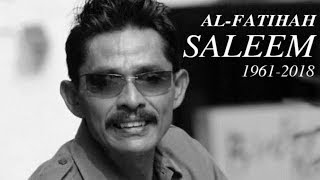 Singer Saleem dies from traffic accident injuries