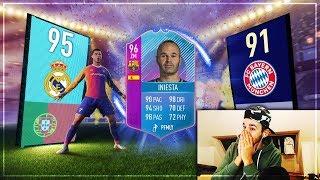 FIFA 18: END OF ERA INIESTA SBC + WIR WÄHLEN DEN FUTTIES SPIELER + SBC Top Partien Pack Opening
