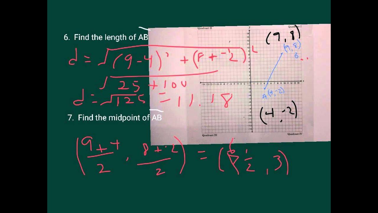 7 Grade Pre Algebra Test