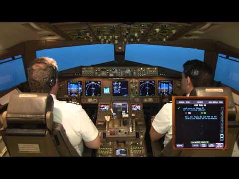 Engine Failure And Driftdown In A Boeing 777