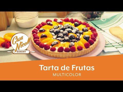 tarta-de-fruta-multicolor-|-tarta-de-crema-pastelera-y-frutas