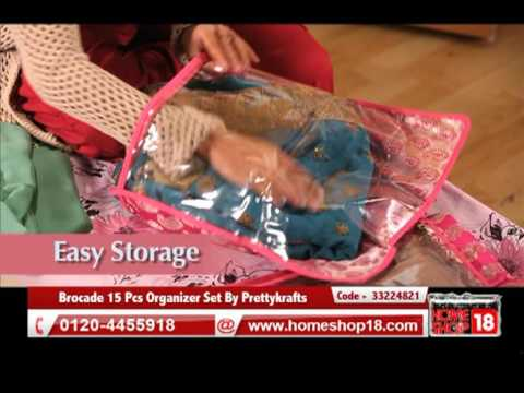 Brocade 15 Pcs Organizer Set By Prettykrafts