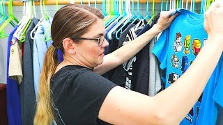 PURGE KIDS CLOSET // CLEANING MOTIVATION // CLEANING MOM