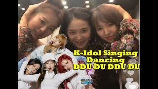Gambar cover Kpop Idol Singing/Dancing DDU DU DDU DU [REDVELVET, V BTS, TWICE, SUJU, etc]