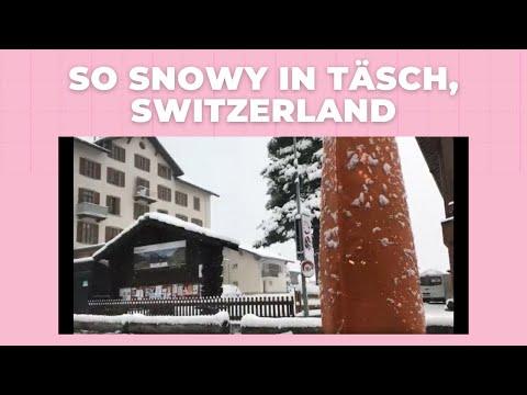 So Snowy In Täsch, Switzerland