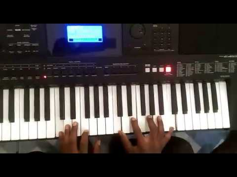Piano tutorial on More of You by Sinach in Key F