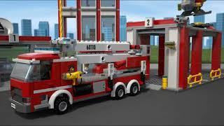 LEGO City Fire Station 60110