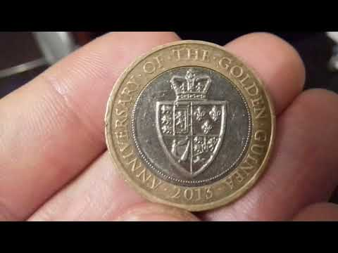 Guinea £2 Coin Value - 2013 Guinea £2 coin worth