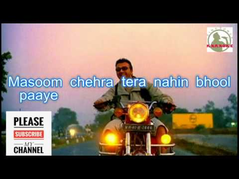Kitni Haseen Zindagi Karaoke Song With lyrics (lucky...