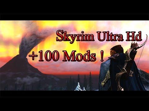 Skyrim Ultra HD [RealVision Enb, CoT + 100 MODS !]
