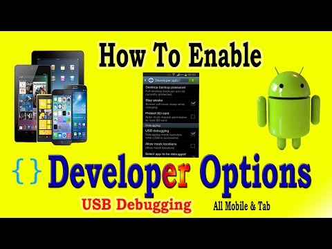 How to Enable Developer Options USB Debugging on Android Mobile and tablet