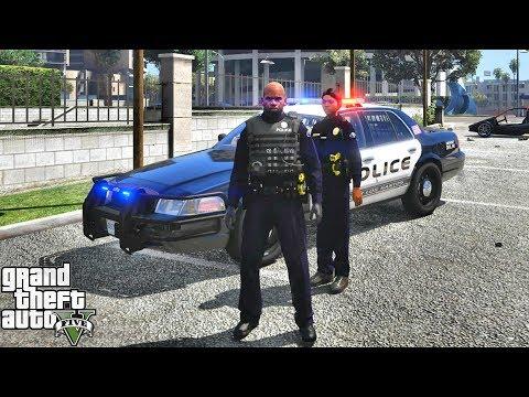 GTA 5 MODS LSPDFR 1011 - OFFICER SHEILA PATROL!!! (GTA 5 REAL LIFE PC MOD)