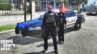 GTA 5 MODS LSPDFR 1011 - OFFICER SHEILA PATROL!!! (GTA 5 REAL LIFE PC MOD)
