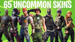 Fortnite All UNCOMMON Skins (Season 1 to 9)