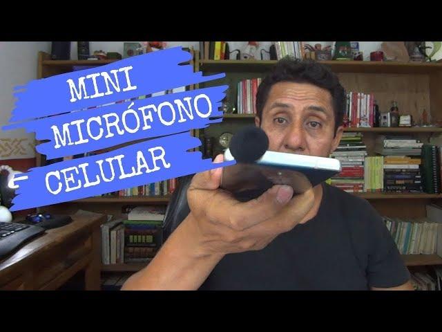 Compré el micrófono ANDOER para smartphone y lo usaré en mi estabilizador DJI OSMO mobile 2