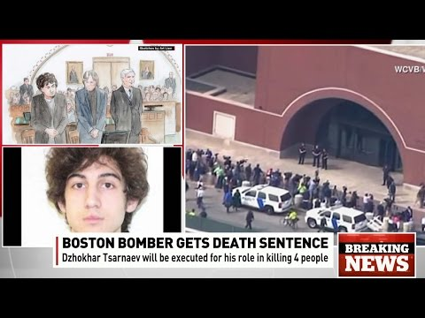 Boston Marathon bomber survivor  reacts to death penalty sentence