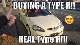 Buying A Right Hand Drive Honda/Acura Integra Type R DC5!/RSX | 11 Second k20a Type R Mugen Project!