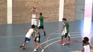 VIDEO 2º CUARTO CAJASOL CADETE B 48   C B  CAREBA JUNIOR 60  17 9 13