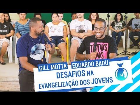 É SÓ ALEGRIA #15 // DESAFIOS NA EVANGELIZAÇÃO DOS JOVENS // Eduardo Badu e Gill Motta