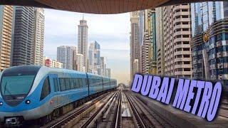Dubai Metro Ride - 4K