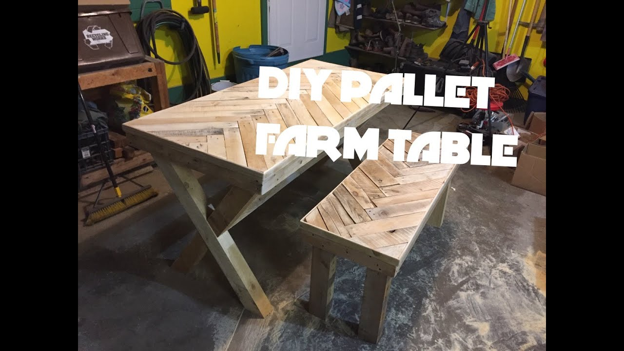 How To Build A Farmhouse Table Youtube Diy Herring Bone Chevron Patterned Farm Table Build Youtube