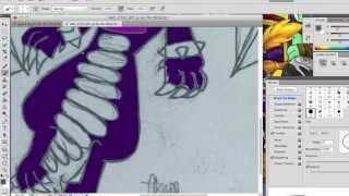how to draw skylanders cynder on photoshop