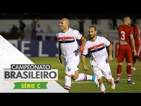 Melhores Momentos  - Gols de Botafogo-SP 2 x 0 Mogi Mirim - Brasileiro Série C (20/05/17)
