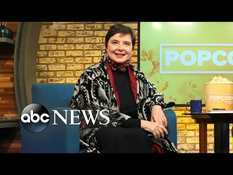Isabella Rossellini on experiencing 'ageism' in the modeling industry