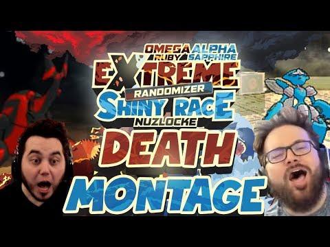 EXTREME DEATH MONTAGE! Pokemon ORAS Extreme Shiny Race Randomizer