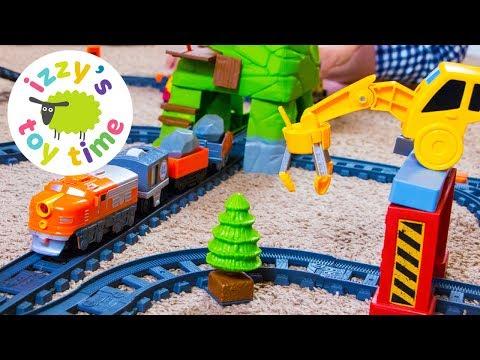 Fisher Price EZ Way Railway | Fun Toy Trains for Kids | Videos for Children