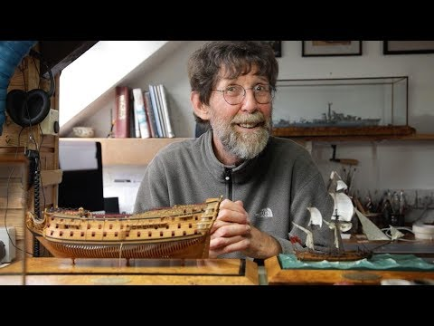 Britain's Last Model Ship Maker Will Never Give Up Craft