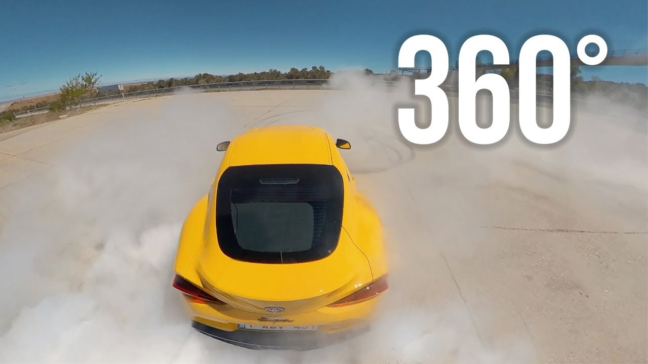 * 360 5K * ALL-NEW TOYOTA SUPRA A90 в формате 360 градусов
