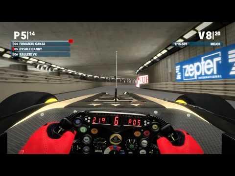 6 GP Monaco (Montecarlo) F1 2012 Liga Gold