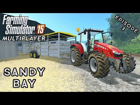 Multiplayer Farming Simulator 15 | Sandy Bay | Episode 3