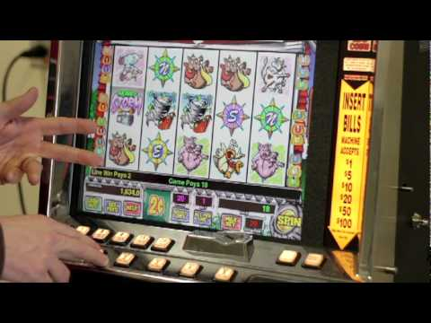 Video Slot machine casino how to win