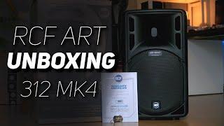 PA #05 Unboxing | RCF Art 312 A MK 4 Aktive Fullrange Lautsprecher | Camera Cube