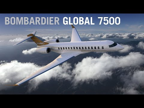 The Global 7000 (now 7500) Business Jet: Bombardier's Home in the Sky – AINtv