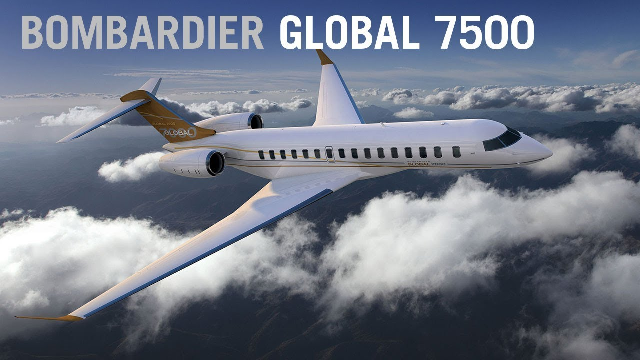 The Global 7000 Now 7500 Business Jet Arr S Home In Sky Aintv